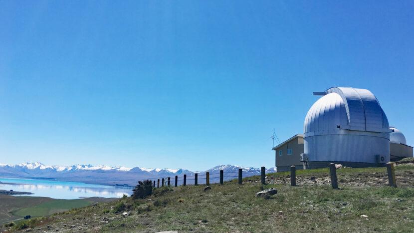 カンタベリー大学の天文台施設