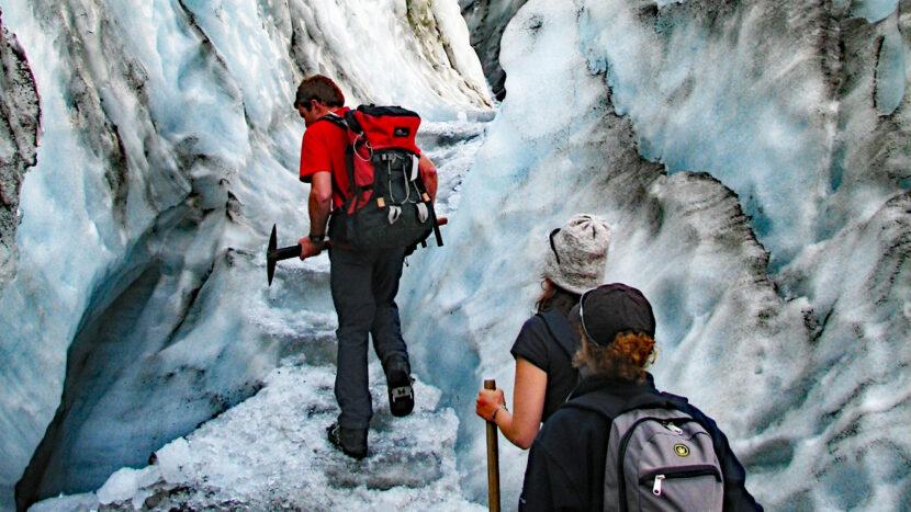オプション:氷河ハイキング