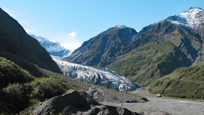 オプション:氷河と温帯雨林