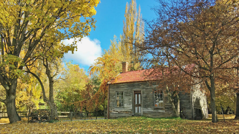 クイーンズタウン周辺の秋の景色