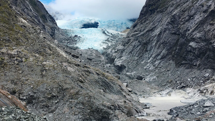 オプション:氷河展望ポイントまでハイキング